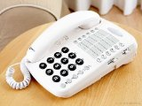 Geemarc CL1100 Hard of Hearing, Hearing Assistance, Amplified Corded Telephone – White