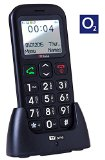 TTfone Astro TT450 Big Button Candy Bar Mobile Phone Easy to Use Simple SOS Button Pay as you go Prepaid PAYG (O2 Pay as you go)