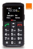 TTfone Dual 2 (TT59) Pay as you go – Pre Pay – PAYG Basic Simple Senior Mobile Phone with Big Buttons, SOS Button, Large Display, Dual Sim (Orange with £10 Credit)