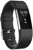 Fitbit Charge 2 Activity Tracker with Wrist Based Heart Rate Monitor – Black/Large
