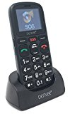 Denver Big Button GSP-120 Senior Mobile Phone with SOS Quick Call Button, SIM Free Unlocked, Torch & Radio