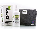 Ecomoist Natural Screen Cleaner 250ml with Fine Microfiber Towel