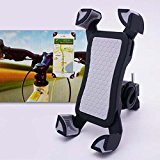 m-one for – Microsoft Lumia 950 – Bike, Bicycle, Motorcycle & Scooter Smartphone Universal Bicycle Stand 360 Degree Rotating Mobile Phone Mount Holder (CAN BE USED WITH PHONE CASE)