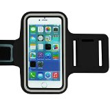 King of Flash Black Extra Large Universal Fitting Mobile Phone/MP3 Player Jogging Running Sports Armband Cover Case For 5.7″ Mobile Phones Such As Sony Xperia Z1/Z2/Z3, iPhone 6 Plus, Samsung Note 2/3/4