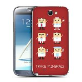 Head Case Designs Medical Persons The Element Republic Replacement Battery Back Cover for Samsung Galaxy Note 2 II N7100