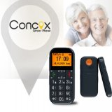 *GPS Trackable* Big Button Large Display Easy to use Senior Citizen Mobile Phone with in-built SOS Panic Button – Sim-Free, FM radio and Torch function – Works with every Network Worldwide – Safety Assuring tool for the elderly, children, lone / night shift workers etc
