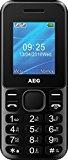 AEG M1220 1.8-Inch Candy Bar UK SIM-Free Mobile Phone with Bluetooth – Black